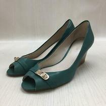 Coach  36  Leather  Green Size 36 Green Fashion Heels 479 From Japan Photo