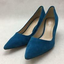 Coach 38 Size 38 Blue Fashion Heels 491 From Japan Photo