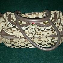 Coach 4 Pocket Satchel Handbag Purse Photo