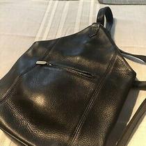 Coach 4917 Sonoma Collection One Shoulder  Black Leather Vintage Sling Photo