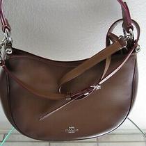 Coach 54868 Nomad Saddle Burnished Glove Tanned Leather Shoulder Bag Photo