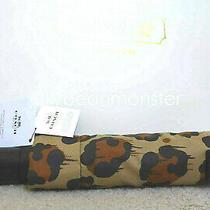 Coach 65689g Wild Beast Print Retractable Umbrella New Tag Photo