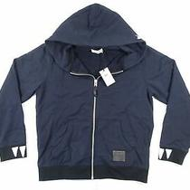 Coach 75830 Navy Blue Medium Rexy Hoodie Full Zip Jacket Dinasour Sweater Nwt  Photo