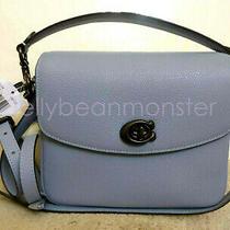Coach 88346 Cassie Leather Crossbody Shoulder Bag Purse Crossbody Bluebell Blue Photo