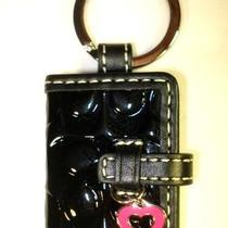 Coach 92348 Signature Picture Frame Heart Charm Key Ring Fob Chain  Dust Bag Photo