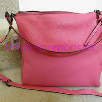 Coach 93811 Shay Leather Shoulder Bag Purse Crossbody Confetti Pink New Photo