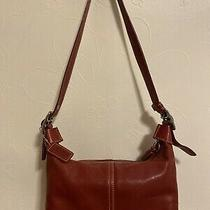 Coach 9564 Legacy Convertible Red Leather Shoulder Bag Hobo Purse Photo