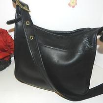 Coach 9966 Vintage Legacy Black Leather Shoulder Bag - Guc (2) Photo