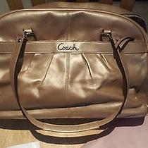 Coach Addison Beige Diaper Bag Leather (Great Condition) Photo