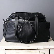 Coach Addison Black Leather Diaper Bag Only Used for 1 Year Photo
