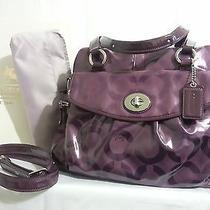 Coach Addison Diaper Multi Function Tote 14732 Purple Photo