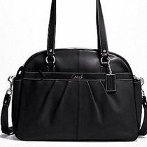 Coach Addison Multifunctional Leather Baby Tote Handbag F18374 Black Nwt 548 Photo