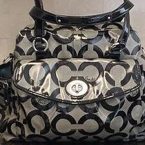Coach Addison Op Art Baby Bag / Satchel Photo