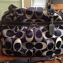 Coach Addison Signature Multifuction Diaper Bag / Tote  Photo