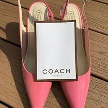 Coach - Alena Patent Leather Pumps...new in Original Box...rare Photo