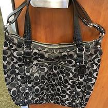 Coach  Alexandria Bag Op Art Sateen Satchel Photo