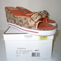 Coach Alyssa Wedge Heel Sandal Womans 9.5 Photo
