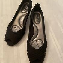 Coach and Four Laura Women's Heels Shoes  Peep Toe Size 8.5 Photo