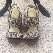 Coach Animal Print Wedge Heel Photo
