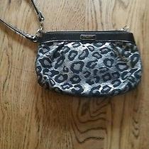 Coach Animal Print Wristlet  Mint Condition  Photo