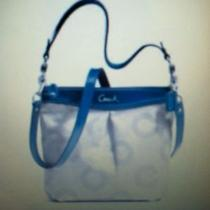 Coach Ashley Dotted Op Art Hippie Bag Photo