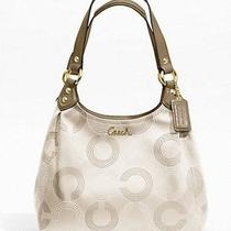 Coach Ashley Dotted Op Art Hobo Style F21920  298.00 Original Nwt Photo