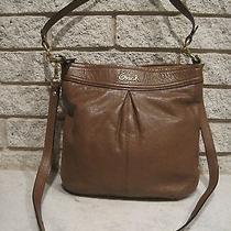 Coach Ashley Leather Hippie Purse - Brown Leather Photo