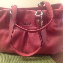 Coach Ashley Satchel Leather Handbag Photo