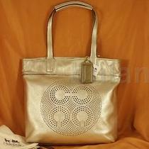 Coach Audrey Leather Ns Slim Tote Style 17041 Nwt Photo