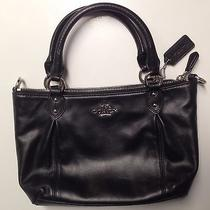 Coach - Authentic Elegant Coach New York Small Leather Handbag Photo