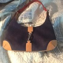 Coach Authentic Handbag Denim in Excellent Shape No Hang Tag  8932 Small Photo