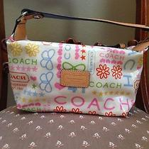 Coach Authentic Summer Colored Handbag Photo