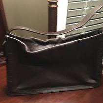 Coach Authentic Vintage East West Leather Bag Made in Turkey Rare Photo