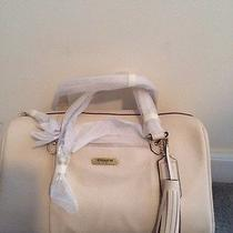 Coach Avery Leather Satchel - Brass/parchment  Photo