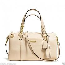 Coach Avery Leather Satchel Reg358  Photo
