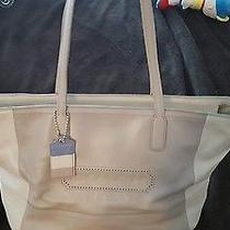 Coach B23469 Womens Bag Purse- Brown/beige Photo