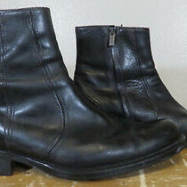 Coach B7280 Sawyer 104 Men's Size 9.5d Side Zip Boots Made in Italy Photo