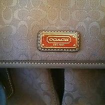 Coach Baby Blue Purse Photo