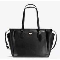 Coach Baby Diaper Multifunction Bag Crossgrain Leather F35702 Photo