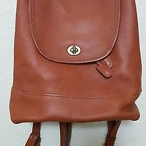 Coach Backpack Brown Leather No. A03-9791 Photo