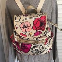 Coach Backpack Handbag Purse B1278 F19284 Preowned Photo