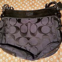 discount coach designer bags 5s1r  Coach Bag Black Brand New Photo