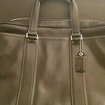 Coach Bag Briefcase F70021 Legacy Leather Zip Commuter 2 Way Shoulder With Strap Photo