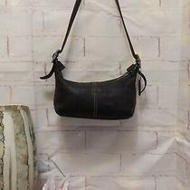 Coach Bag Legacy 9564 Black Leather Demi-Hobo Small Shoulder Handbag Purse Photo