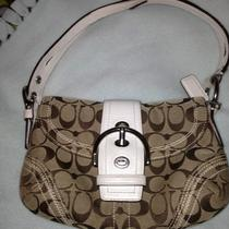Coach Bag Small White Hobo Bag Photo