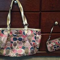 Coach Bag With Matching Wristlet  Photo