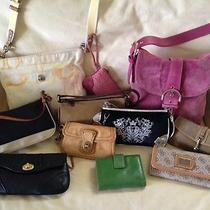 Coach Bags- Lot 11 Items Include Guess Hobo Talbots-Crossbody/baguette/wristlet Photo