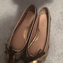 Coach Ballet Flats Size 6.5 Photo