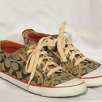 Coach Barrett Lace Up Canvas Sneakers  Photo