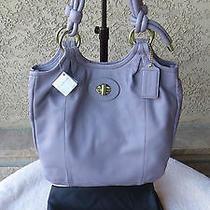 Coach Beautiful Nwt  Purple / Lavender  Handbag 14162 Photo